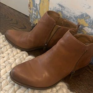 Lucky Brand Basel Booties size 8